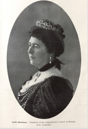 Ishbel Maria Marjoribanks, Lady Aberdeen and Temair