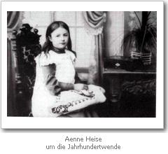 Aenne Heise (um die Jahrhundertwende)