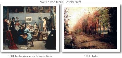 Werke von Marie Bashkirtseff