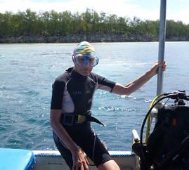 Theresia Sauter-Bailliet, Insel Palau