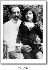 Simone Weil mit ihrem Vater
