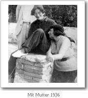 Simone Weil mit ihrer Mutter