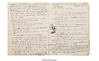 Aufzeichnungen von Simone Weil