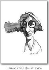 Simone Weil, Karikatur von David Levine