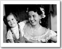 Lisa Della Casa mit ihrer Tochter