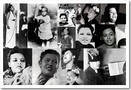 Billie Holiday: Bilder aus den Jahren 1917 bis 1940