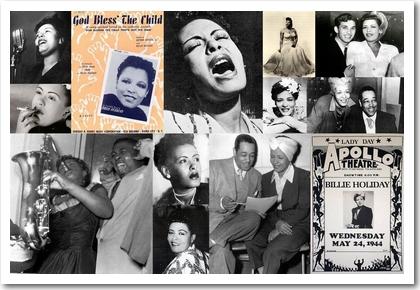 Billie Holiday: Bilder aus den Jahren 1940 bis 1945