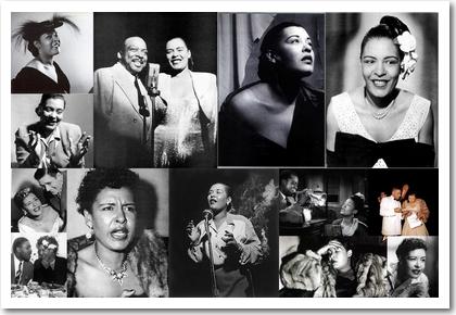 Billie Holiday: Bilder aus den Jahren 1945 bis 1954