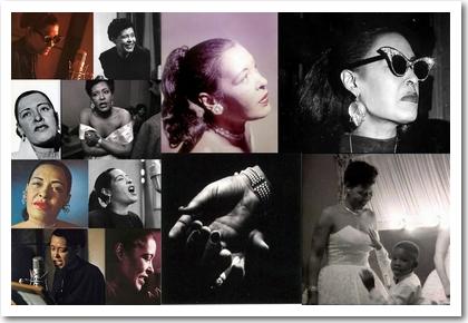 Billie Holiday: Bilder aus den Jahren 1954 bis 1959