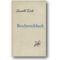 Kolb 1953 – Beschwerdebuch