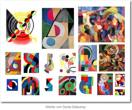 Werke von Sonia Delaynay