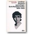 Brinker-Gabler, Ludwig et al. (Hg.) 1986 – Lexikon deutschsprachiger Schriftstellerinnen