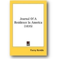 Kemble 2007 – Journal Of A Residence