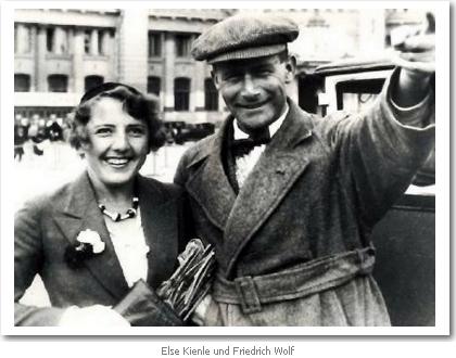 Elsa Kienle und Friedrich Wolf