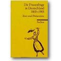 Frederiksen (Hg.) 1994 – Die Frauenfrage in Deutschland 1865