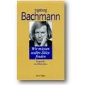 Bachmann 1994 – Wir müssen wahre Sätze finden