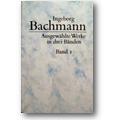 Bachmann 1987 – Ausgewählte Werke in drei Bänden