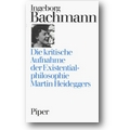 Bachmann 1985 – Die kritische Aufnahme der Existentialphilosophie