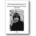 Schardt, Kretschmer (Hg.) 2011 – Über Ingeborg Bachmann II