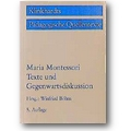 Montessori 1996 – Maria Montessori