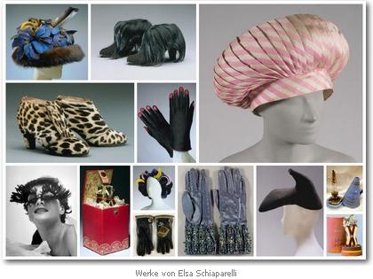 Werke von Elsa Schiaparelli