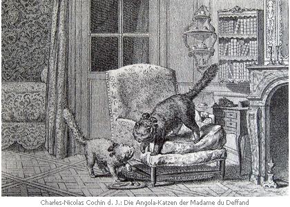 Die Katzen der Marquise du Deffand