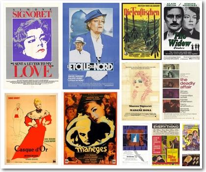 Simone Signoret: Filmplakate