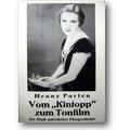 Porten 1932 – Vom Kintopp zum Tonfilm