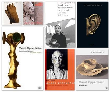 Meret Oppenheim – Bücher und Ausstellungskataloge