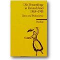 Frederiksen (Hg.) 1981 – Die Frauenfrage in Deutschland