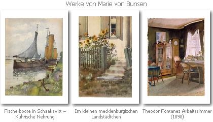 Werke von Marie von Bunsen