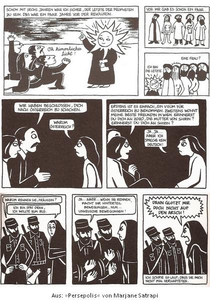 Aus: Persepolis (Marjane Satrapi)