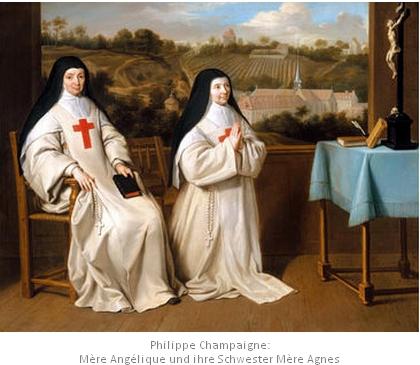Angélique Arnauld und ihre Schwester Agnes
