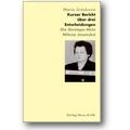 Jirásková 1996 – Kurzer Bericht über drei Entscheidungen
