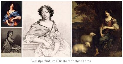 Selbstporträts von Élisabeth Sophie Chéron