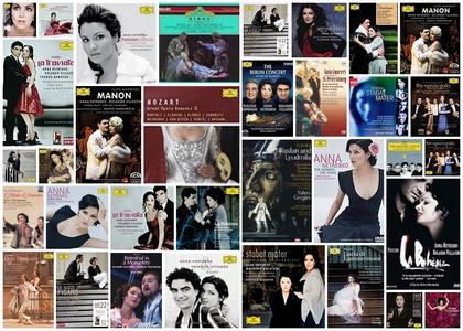 Anna Netrebko: CD- und DVD-Cover