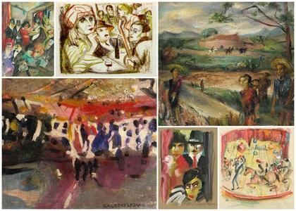 Werke von Lou Albert-Lasard