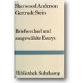Anderson, Stein 1985 – Briefwechsel und ausgewählte Essays