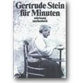Stein 1996 – Gertrude Stein für Minuten