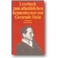 Stein, Haas (Hg.) 1995 – Lesebuch zum allmählichen Kennenlernen