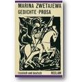 Zwetajewa 1989 – Gedichte, Prosa