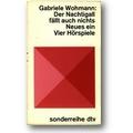 Wohmann 1979 – Der Nachtigall fällt auch nichts