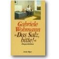 Wohmann 1992 – Das Salz, bitte