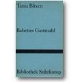 Blixen 1970 – Babettes Gastmahl