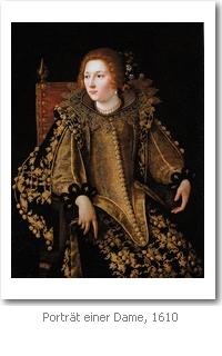 Artemisia Gentileschi: Porträt einer Dame, 1610