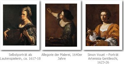 Werke von Artemisia Gentileschi