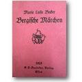 Becker 1925 – Bergische Märchen