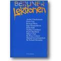 Berliner Lektionen 1992 1993