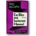 McCarthy 1970 – Ein Blitz aus heiterem Himmel