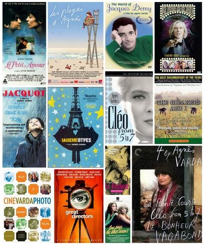 Agnès Varda: Filmplakate